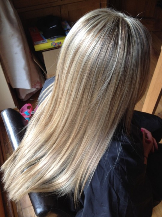 Ladies Full Head Foils And A Cut Emma Leigh Cardiff Mobile Hairdresser