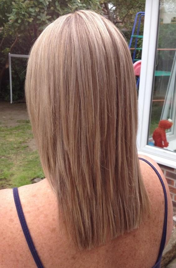 Full Head Of Foils Emma Leigh Cardiff Mobile Hairdresser